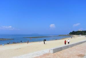 天草・四郎ヶ浜ビーチです