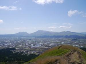 阿蘇大観峰からの眺めです